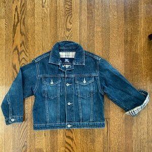Authentic Boy Burberry denim jacket size:5